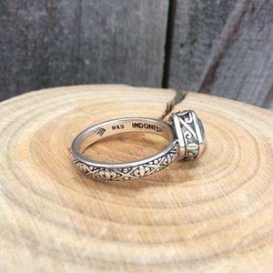 Silpada Frozen Lake Ring